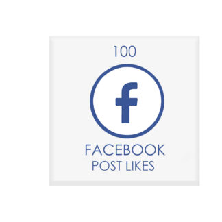 100 facebook POST likes